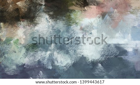 painting with brush strokes and light slate gray, gray gray and very dark blue colors. can be used for wallpaper, cards, poster or creative fasion design elements.