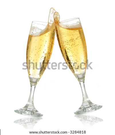 champagne glasses clipart. of champagne flutes making