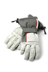 Pair of winter ski gloves.