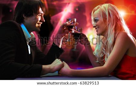 pair on restaurant