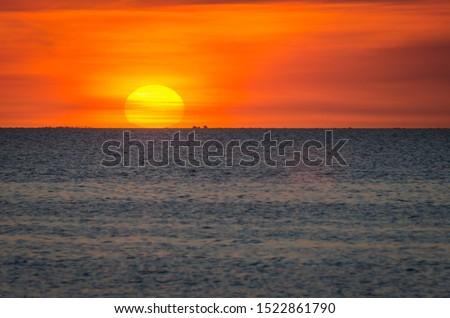 Paisajes de mar chiquita cordoba Foto stock ©