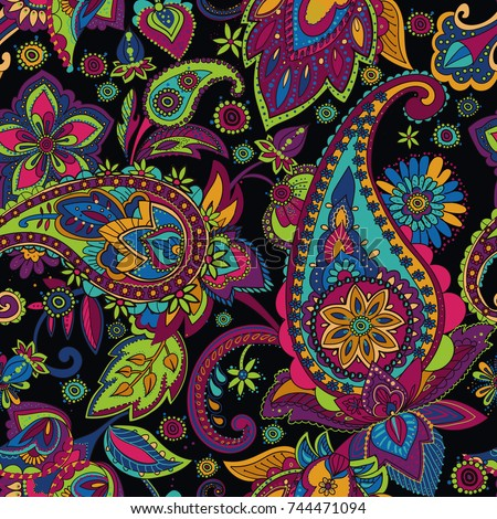 paisley. a pattern based on the ...