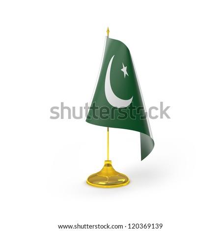 Pakistan Flag Detail Render