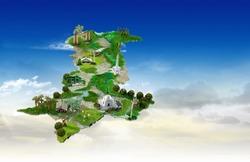 Pakistan Map, Pakistan Monuments, Environment, Quaid-e-Azam Tomb, Minar e Pakistan, Khyber Gate
