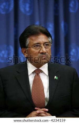 Pakistan's President Pervez Musharraf a