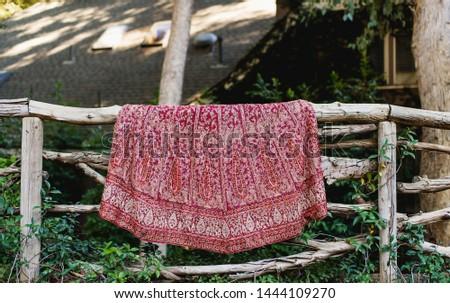 Pakistani Indian bridal lehnga skirt dress wedding dress #1444109270