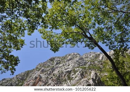 Paklenica Canyon, Croatia