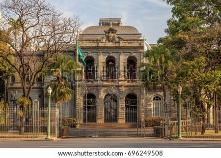 Palácio da Liberdade/Liberty palace, in Belo Horizonte, Minas Gerais, Brazil.