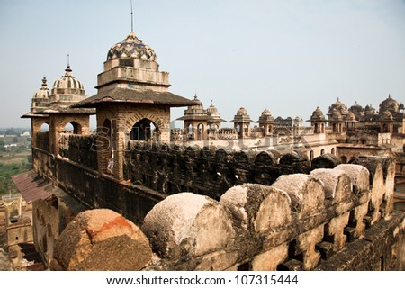 Palace in Orchha, India