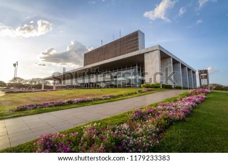 Palace of Buriti seat of government of Distrito Federal - Brasilia, Distrito Federal, Brazil