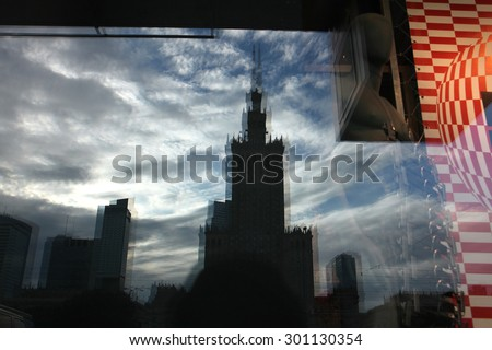 Palace of Culture and Science in Warsaw, Poland. #301130354
