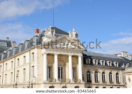 Palace of Dukes of Burgundy (Palais des ducs de Bourgogne) in Dijon, France