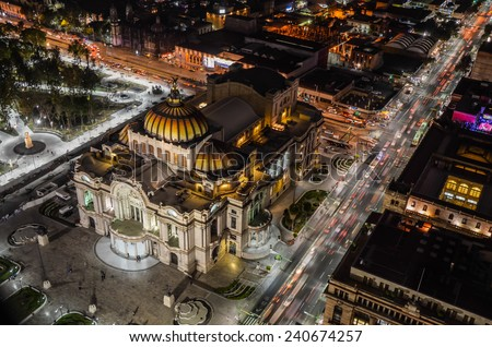 Palace of fine arts, Mexico City