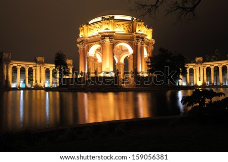 Palace of Fine Arts, originally constructed for the 1915 Panama-Pacific Exposition