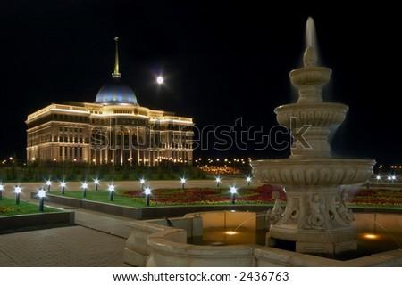 Palace of president Astana, Kazakhstan