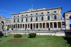Palace of St. Michael and St. George, Corfu, Greece