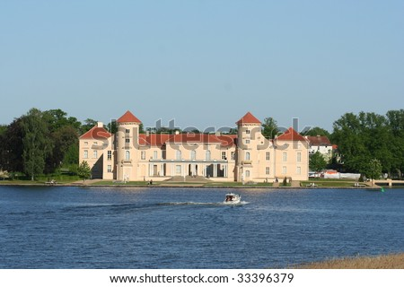 Palace Rheinsberg in Germany