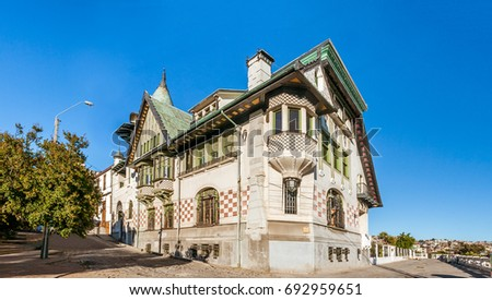 Palacio Baburizza, Valparaiso, Chile. Built in 1916 and declared a historic monument in 1976.
