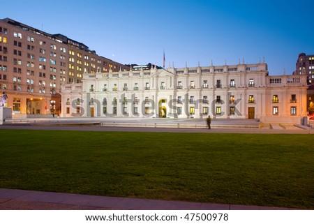 Palacio de la Moneda, \