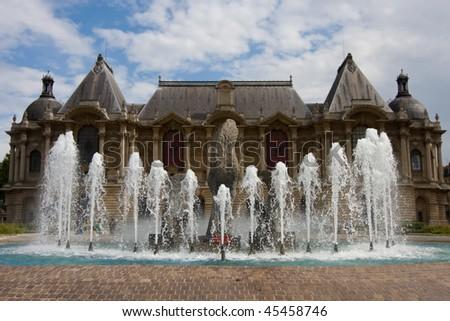 Palais des Beaux Arts, Lille, France - stock photo