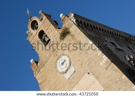 Palazzo Degli Anziani - Ancona - - stock photo