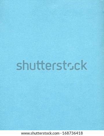 pale blue blank paper sheet useful as a background