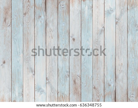 pale blue wood planks texture or background #636348755