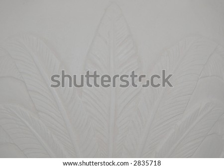 pale fern leaf pattern background