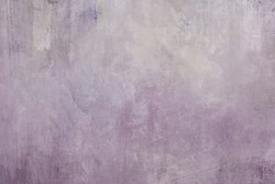 pale purple grungy painting glace background or texture
