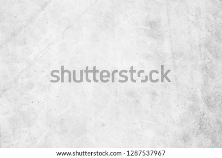 pale white concrete floor grunge background vintage style.cement construction material texture #1287537967