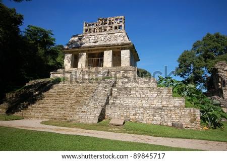 Palenque mayan ruins-monuments Chiapas Mexico