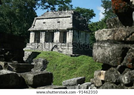 Palenque mayan ruins - monuments Chiapas Mexico