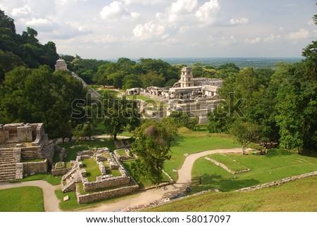 Palenque Palacio, Mexico