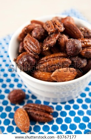 Paleo Style Sweet and Spicy Nut Mix