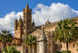 Palermo Cathedral church, Sicily, Italy