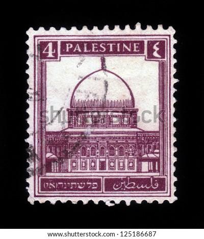 palestine   circa 1932  a stamp ...