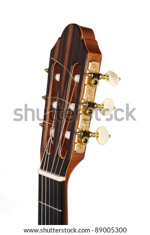 Palette of classic guitar