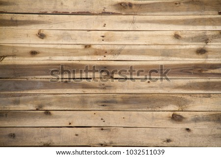 Palette wooden for background.