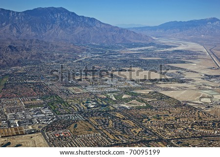 Palm Desert and Palm Springs, California