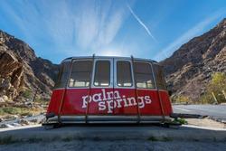 Palm Springs Aerial Tramway California USA 27.01.2018