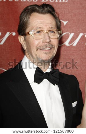 PALM SPRINGS, CA - JAN 7: Gary Oldham at the 23rd Annual Palm Springs International Film Festival Awards Gala at the Palm Springs Convention Center on January 7, 2012 in Palm Springs, California