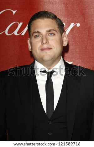 PALM SPRINGS, CA - JAN 7: Jonah Hill at the 23rd Annual Palm Springs International Film Festival Awards Gala at the Palm Springs Convention Center on January 7, 2012 in Palm Springs, California