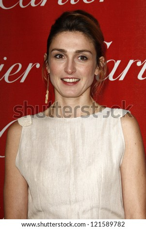 PALM SPRINGS, CA - JAN 7: Julie Gayet at the 23rd Annual Palm Springs International Film Festival Awards Gala at the Palm Springs Convention Center on January 7, 2012 in Palm Springs, California