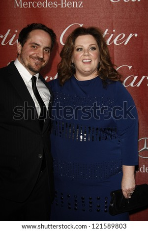 PALM SPRINGS, CA - JAN 7: Melissa McCarthy at the 23rd Annual Palm Springs International Film Festival Awards Gala at the Palm Springs Convention Center on January 7, 2012 in Palm Springs, California