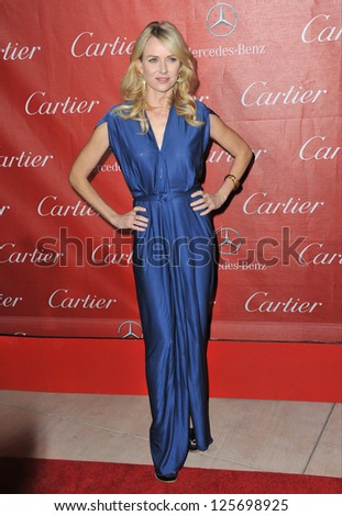 PALM SPRINGS, CA - JANUARY 5, 2013: Naomi Watts at the Awards Gala for the 2013 Palm Springs International Film Festival.