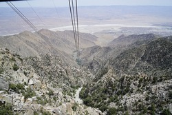 Palm Springs from the Aerial Tramway, San Jacinto State Park, Palm Springs, California, USA