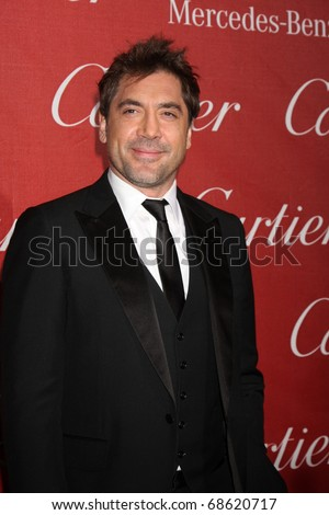 PALM SPRINGS - JAN 8: Javiar Bardem arrives at the Palm Springs International Film Festival 2011 Awards Gala at Palm Springs Convention Center on January 8, 2011 in Palm Springs, CA.