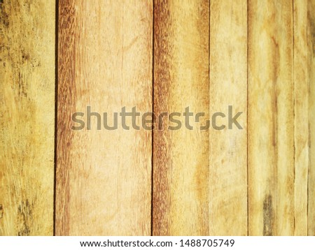 Palm wood used as a roofing material or flooring material, which is eco-friendly and also sustainable.