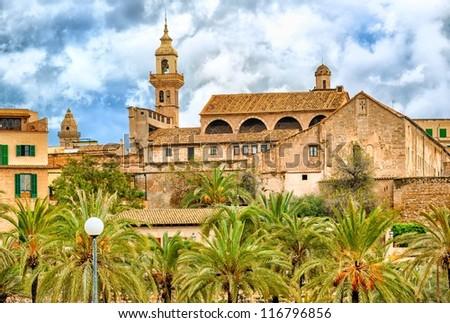 Palma de Mallorca skyline, Spain