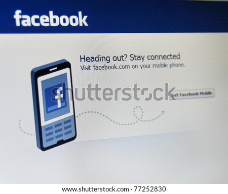 PALO ALTO CA MAY 13 Recently the security firm Symantec discovered a leak in Facebooka s infrastructure which could leave a mobile device extremely vulnerable May 13 2011 in Palo Alto CA.